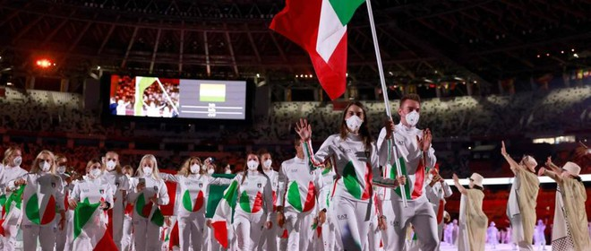 Apertura giochi olimpici: cerimonia e sfilata atleti italiani
